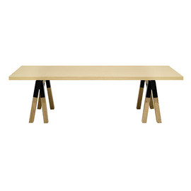 CIBONE - Trestle CENTER TABLE wood