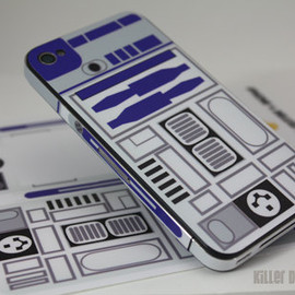 Killer Duck Decals - R2D2 iPhone Decal Skin