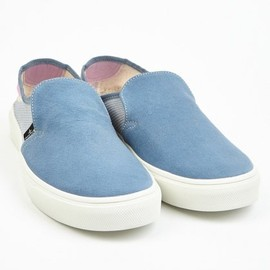 Stone Island - X Diemme Sky Blue Men's Slip-On Sneakers