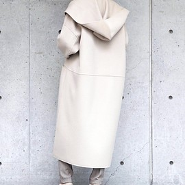 Liesse - long hooded coat