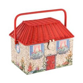 Cath Kidston - Cottage Sewing Basket コテージ ソーイング バスケット