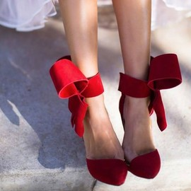 Red Heels/luvly bow♡