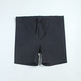 Umit Benan - UMIT BENAN DOUBLE POCKET SHORTS [NAVY]