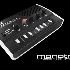 KORG - monotron Analogue Ribbon Synthesizer