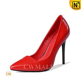 CWMALLS - CWMALLS® Leather Pointed Toe Pumps CW306105