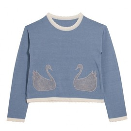 Honey mi Honey - Swan knit tops