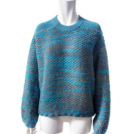 AKANE UTSUNOMIYA - MIX KNIT (BLUE)