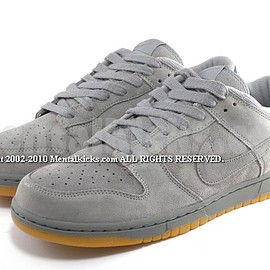 NIKE - Dunk Low - Medium Grey/Medium Grey/White