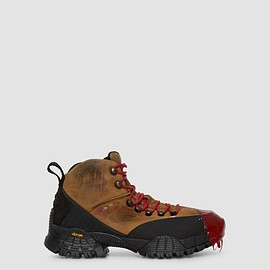1017 ALYX 9SM, ROA - Rubber Dipped Hiking Boot - Red