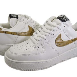 NIKE -  AIR FORCE 1 '96 goldsnake