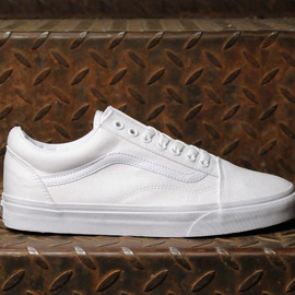 VANS - CLASSIC OLD SKOOL TRUE WHITE (US limited edition)