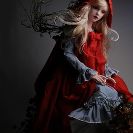 DOLL MORE - Red Riding Hood Elysia / 100cm~ Doll