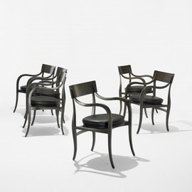 Edward Wormley - Alexandria chairs model 6004, set of six