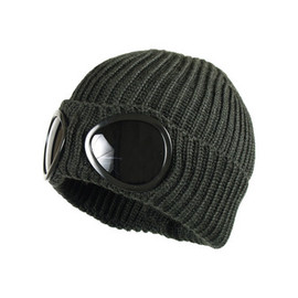 CP Company - CP Company Military Green Goggle Beanie Hat