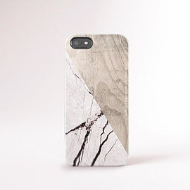 casesbycsera - Tough iPhone 6 Case Wood Print iPhone 5 Case Marble Wood Print iPhone Case Clear iPhone 6 Case