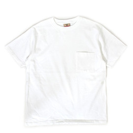 GOOD WEAR - S/S POCKET TEE CUSTOM / WHITE