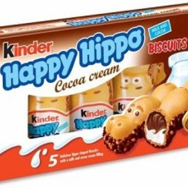 Kinder - Happy Hippo Choco 5 Piece Box 0.78oz