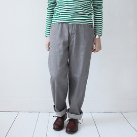 Charpentier de Vaisseau - Denim Work Pants / Gray