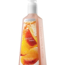 Bath and Body works - Anti Bacterial Soap - Peach Bellini Deep Cleansing Hand Soap - Anti-Bacterial - Bath & Body Works