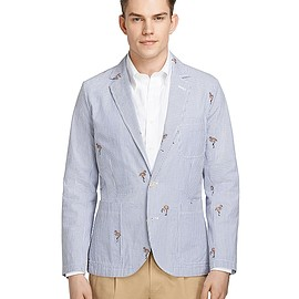 Brooks Brothers - Seersucker Flamingo Jacket
