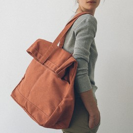 Makr - Heather Fold Weekender - Terra Cotta