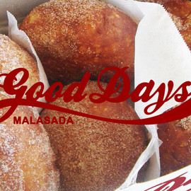 Good Days Malasada - Plain Sugar/Cinnamon Sugar/Coconut Sugar