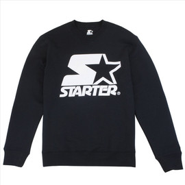 Starter - STARTER ICON CREW BLACK/WHITE