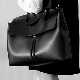 Mansur Gavriel - Mansur Gavriel Black Lady Bag in Large