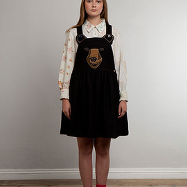 Lu Flux - BLACK BOO BOO BEAR DRESS