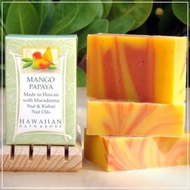 HAWAIIAN BATH&BODY - マンゴー・パパイヤソープ Mango Papaya Soap