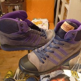 "adidas - 「<used>'93 adidas ADVENTURE BOOT grey/purple""made in POLAND"" size:26cm 7800yen」完売"