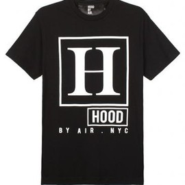 HOOD BY AIR - RATED H Tシャツ