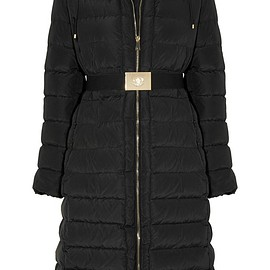 Moncler - Imin belted quilted shell down coat
