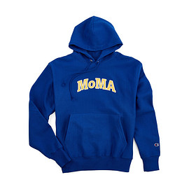 MOMA - Champion Hoodie - MoMA Edition in color Blue