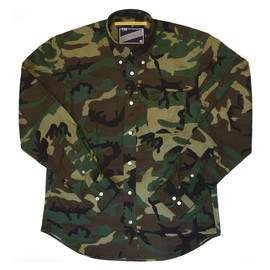 "THE UNION - THE UNION / THE ONE SHOW × THE FABRIC ""CAMO B.D. SHIRTS"""