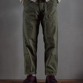 orslow - US ARMY FATIGUE PANTS RIPSTOP