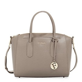 FURLA - Tessa Small Saffiano Leather Satchel Bag
