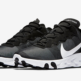 NIKE - React Element 55 - Black/White