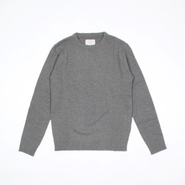 commono reproducts - Workers Crew Knit - Grey