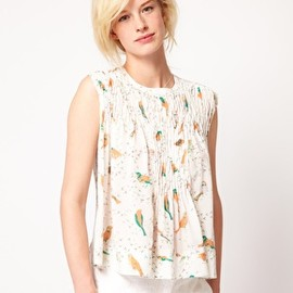 SEE BY CHLOE - Bird print Blouse