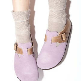 BIRKENSTOCK - LONDON VL/NU Cuail/Antique Pink