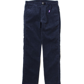 THE NORTH FACE PURPLE LABEL - Corduroy Weaving Belt Pants