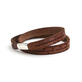 Work Hard Anywhere - Ruler Bracelet