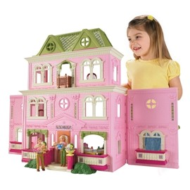 LOVING FAMILY™ Grand Dollhouse - Shop.Mattel.com