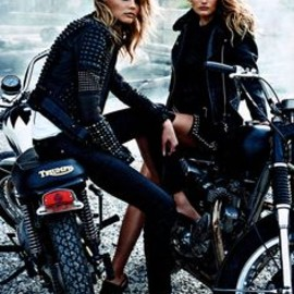Magdalena Frackowiak + Edita Vilkeviciute by Lachlan Bailey for W Magazine September 2013