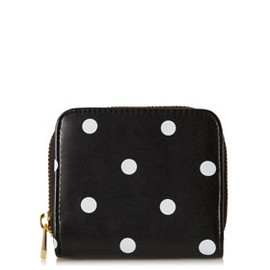TOPSHOP - Small Spot Zip Around Purse