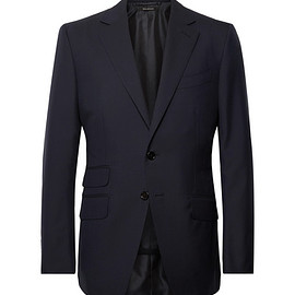 TOM FORD - Navy O'Connor Slim-Fit Wool Suit Jacket