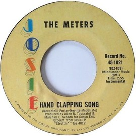 The ‎Meters - Hand Clapping Song / Joog