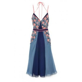 Jason Wu - Print Chiffon Halter Dress