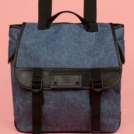 Chloe Sevigny for Opening Ceremony - leather trim backpack